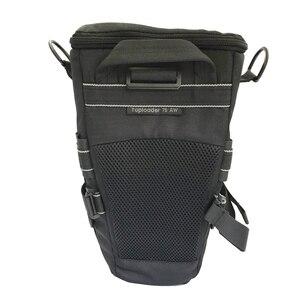 Image 2 - Lowepro topلودر 75AW المحمولة حقيبة مثلث topلودر 75 AW حقيبة كاميرا عدسة SLR حزمة حقيبة مع غطاء للمطر
