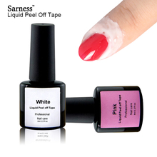 Sarness Skin Liquid Palisade Nail Art Cream Glue White L Off Finger Protected