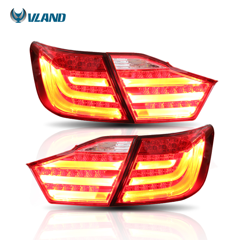 Vland Car Styling Taillight For Camry Led Tail Light 2012