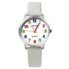 ot01 Children Watch Fashion  Brand Watches Quartz Wristwatches  Kids Clock boys girls Students Wristwatch Multicolor watch plate