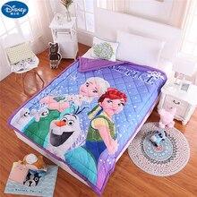 Disney Frozen Elsa Ann тачки хлопок мультфильм пледы одеяло для мальчиков и девочек детей 1,5 м Кондиционер Комплект постельного белья с одеялом
