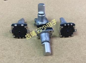 [VK] ORIGINAL The EC11 SMD encoder with switch 32 position 16 pulse point shalf 15MM SMD