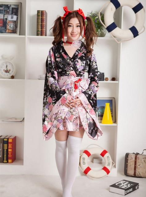 Hot Fashion Cosplay Costumes Women Japanese Style Kimono -8995