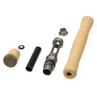 1Set/Bag   Fishing   Reel Seat Spinning   Rod   Handle Cork Grip for DIY Building Repair   Fishing     Rod   DIY Wheel Seat