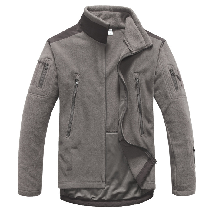 Veste Tactique En Plein Air Soft Shell Jacket polaire Hommes Armée de Sport Thermique Chasse Randonnée Sport vestes à capuche