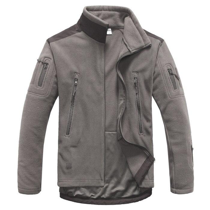 Veste tactique en plein air doux Shell polaire veste hommes armée Sportswear thermique chasse randonnée Sport vestes à capuche