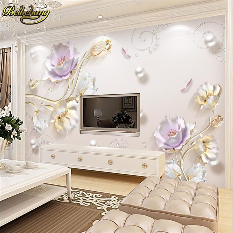 Beibehang Custom Photo 3d Room Ceiling Murals Wallpaper Landscape