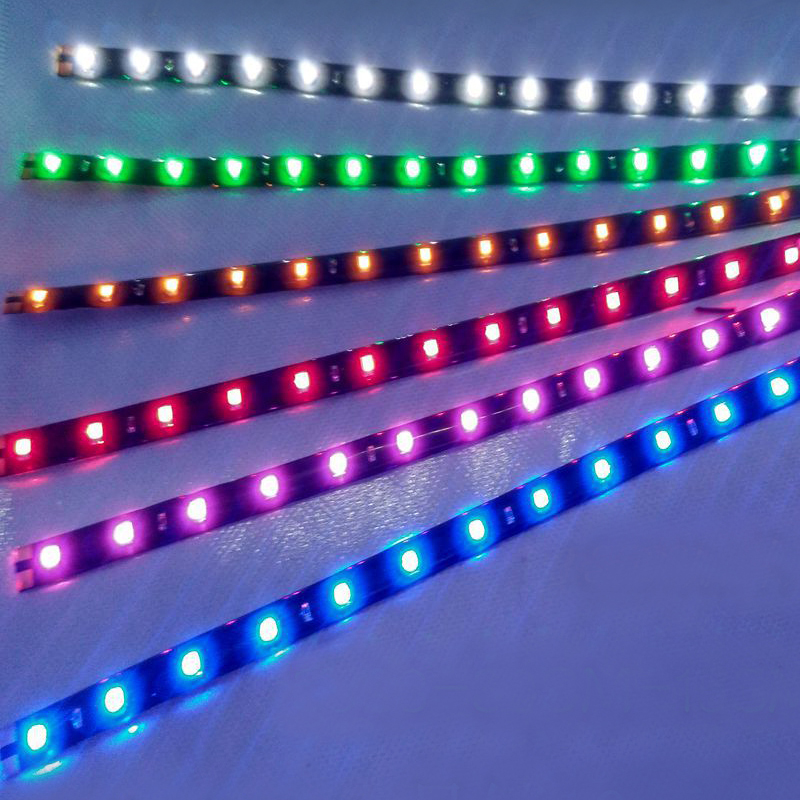 LED Strip Light DC12V SMD 3528 Mirror Waterproof Diode Led Fiexble Light Led Ribbon Tape Home Decoration Lamp Car Styling Stripe