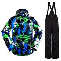 2018 зимняя куртка для мужчин лыжный костюм M XXXL женский снег куртка и брюки для девочек ветрозащитный водонепроница