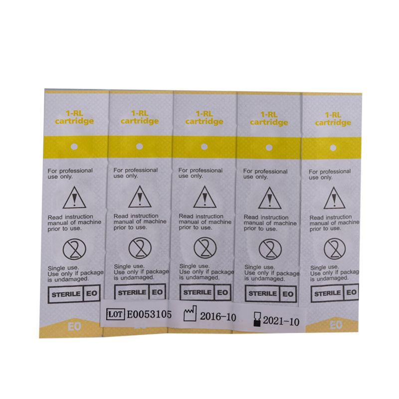 10piece per lot 1R Disposable Sterilized Tattoo Permanent Makeup Needles Tips for Eyebrow lip