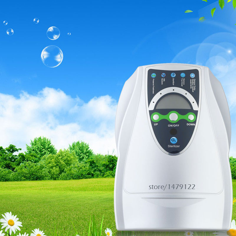 Portable Active Ozone Generator 400mg/H Sterilizer Air purifier Purification Fruit Vegetables Water Food Preparation Ozonator portable activated ozone sterilizer generator purifier oxygen concentrate machine 400mg