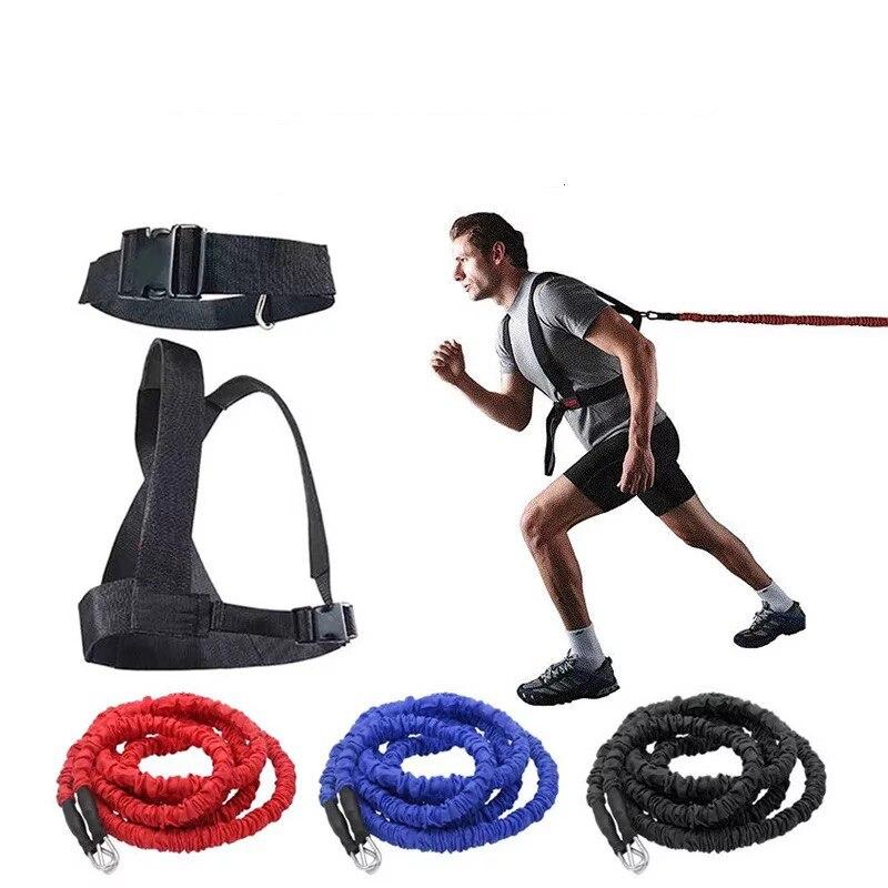 Haute Qualité Pilates Suspension Élastique Sling Pratique Pull Corde Bungee Entraînement Entraîneur Cordon Résistance Hanging Formation Bretelles