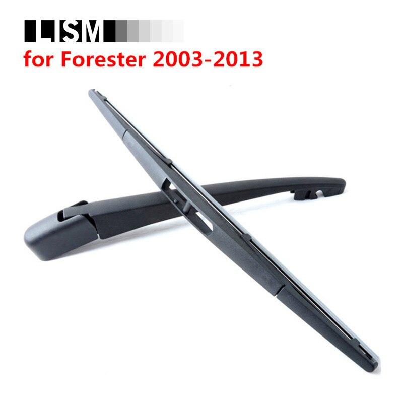 Parabrezza posteriore Wiper Blades Ricarica Spazzole per Auto Custodi per Subaru Forester 2003-2013 Finestra Posteriore Parabrezza Rondella