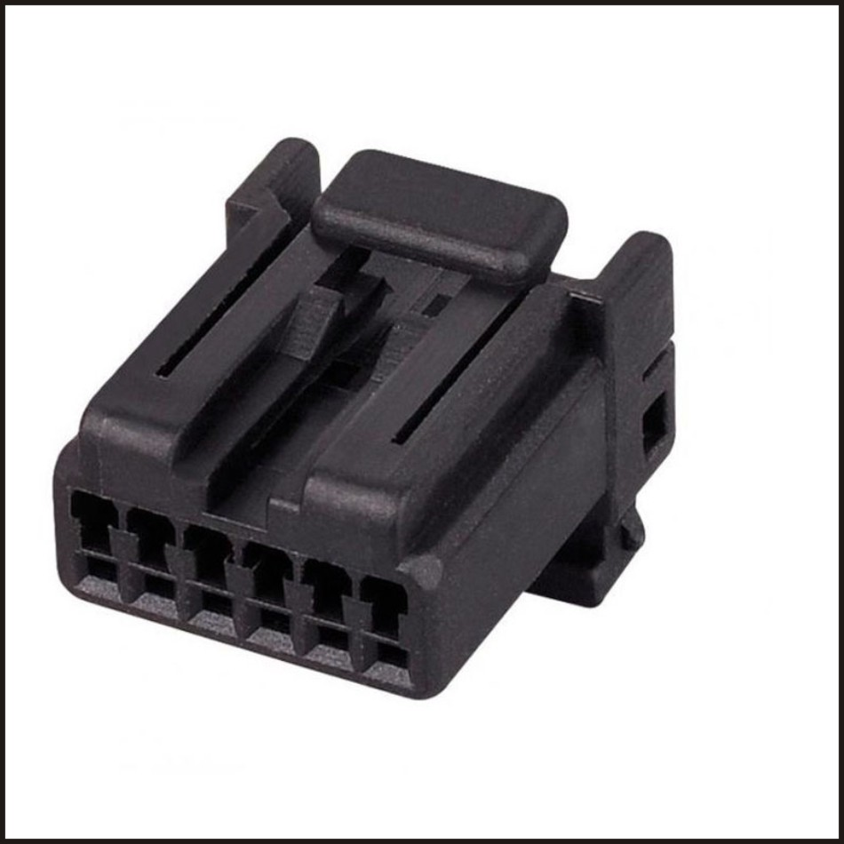175507 2 male female wire connector terminal 6 pin. Black Bedroom Furniture Sets. Home Design Ideas