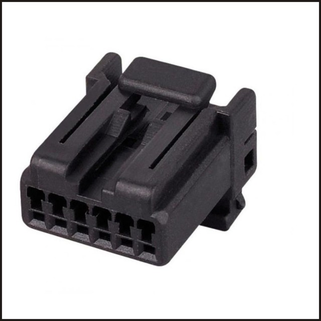 175507-2 male female wire connector terminal 6 pin connector automotive  plugs socket fuse box dj7062-1 2-21