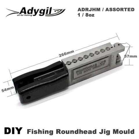 roundhead adygil diy pesca jig molde adrjhm