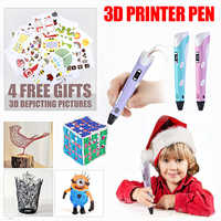 3D pen learning Creative set toys for children plastic drawing Creativity arts and craft kit Painting Educational kids gift