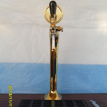 beer pump/ beer column/ beer tower unit/ bar counter beer dispenser unit