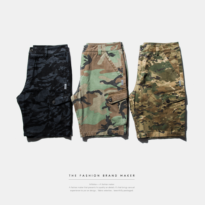 86 Brand Mens Military Cargo Shorts New Army Camouflage Shorts Men Cotton Loose Work Casual Short Pants Plus Size