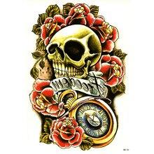 Calaveras Rosas Tatuajes Compra Lotes Baratos De Calaveras Rosas