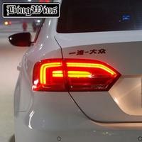 BINGWINS Тюнинг автомобилей для VW jetta светодиодный задние фонари GLI MK6 светодиодный сзади лампы Парковка NCS для vw jetta светодиодный задние фонари т