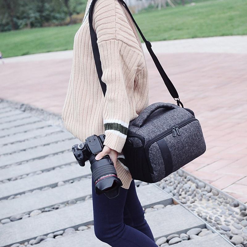 DSLR Waterproof Camera Shoulder Bag Case Cover For Canon 600D 650D 7D 70D 77D 700D 750D 760D 7D Mark II 80D 800D 90D 5DsR 5Ds