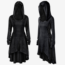 New Women Dress Medieval Swing Gothic Traditional Costume Gown Knight Victorian Long Womens Fancy Hoodie Vintage