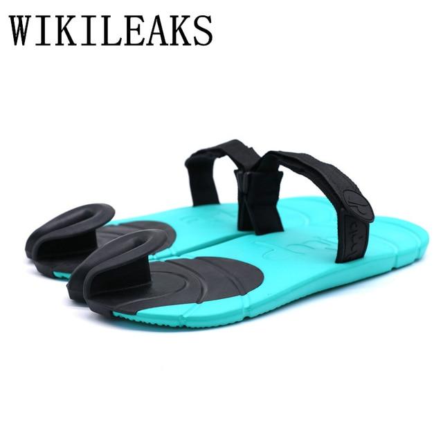 b67d792fa428e8 summer slippers men shoes flat sandals for men zapatos de los hombres  zapatillas designer slides luxury brand beach flip flops