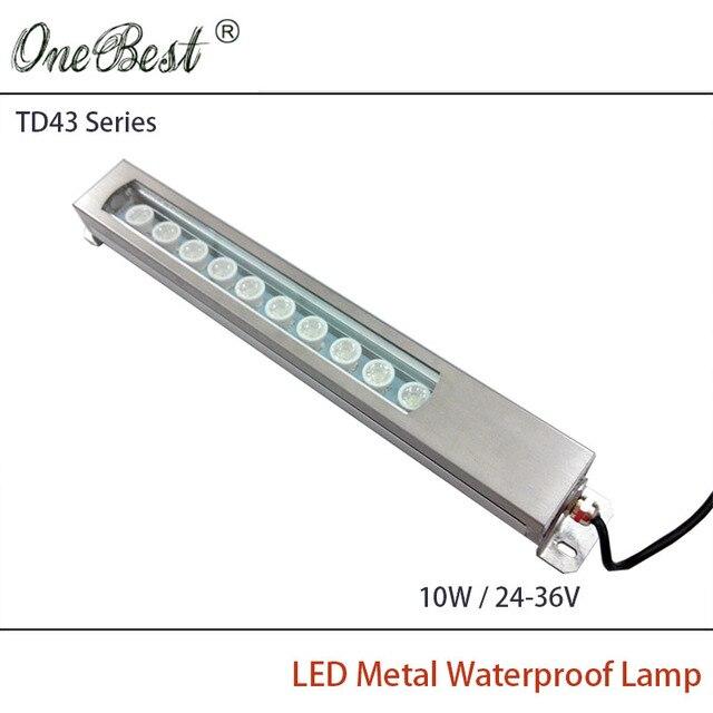 HNTD 10 Вт 24 В/36 В TD43 Металла Сид Свет Панели Чпу Водонепроницаемый взрывозащищенные светодиодный Прожектор свет работы Бесплатная доставка