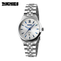 SKMEI Quartz Watch Women Fashion Casual Watches Relogio Feminino Montre Femme Reloj Mujer Full Steel Waterproof