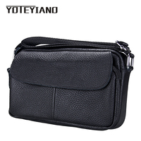 YOTEYIANO Women's Messenger Bags Sort Genuine Leather Small Crossbody Bags Korean Fashion Candy Colors Shoulder Bags