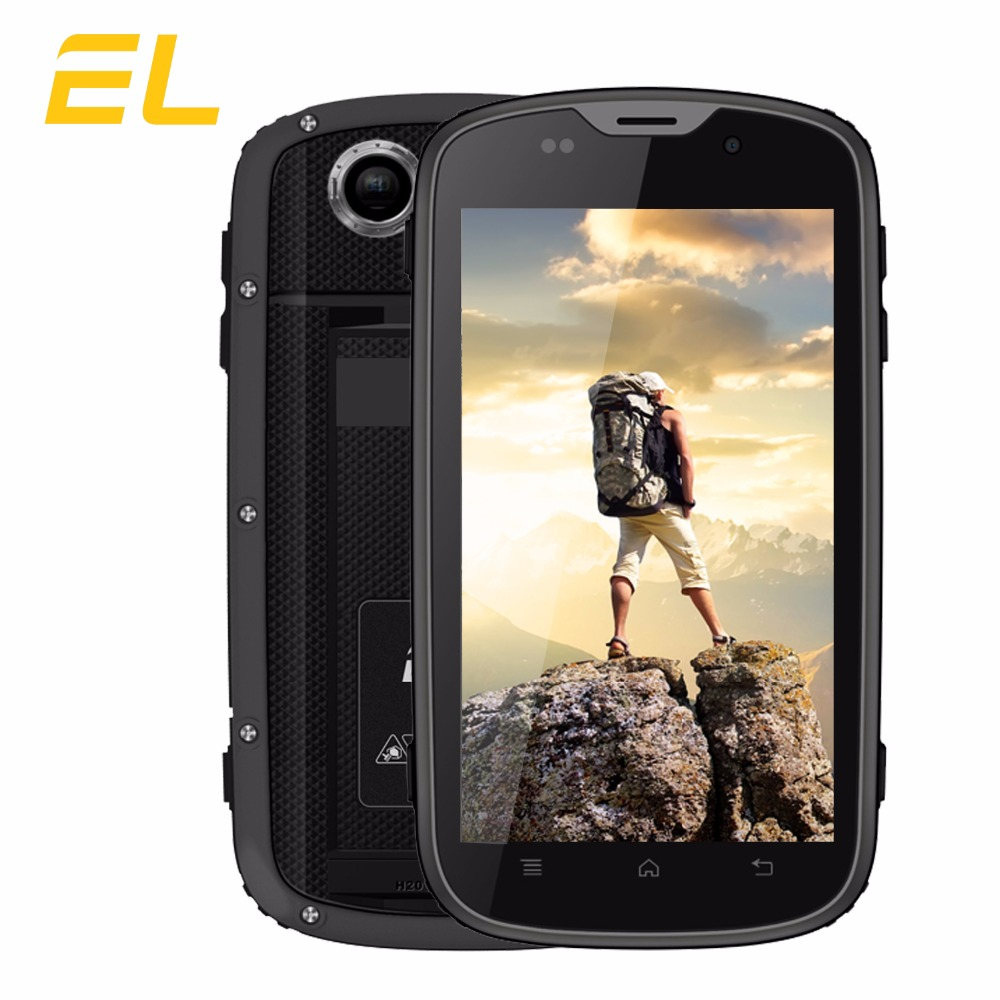 "Original EL W5S Smartphone 4.0""Quad-Core 8GB+1GB 2800mAh Battery Dual Sim Touch Mobile China Phone Cheap 2017 Flagship Rugged"