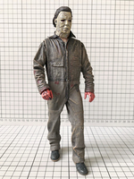 Original Garage Kit 20cm Horror: Halloween Michael Myers Bloody Killer Joints Doll Action Figure Collectible Model Loose Toy