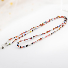 Chic Colorful Acrylic Beads Chain Sunglasses Chains Women Reading Glasses Cord Holder Neck Strap Rop