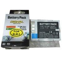 BLM-5 BLM5リチウム電池blm1デジタルカメラバッテリーオリンパスe1 e3 e30 e300 e330 e500 e510 e520 c5060 c7070 C8080 e