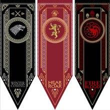 Домашний декор Игра престолов баннер флаг дом Старк Таргариен Ланнистер украшение Песнь Льда и Огня