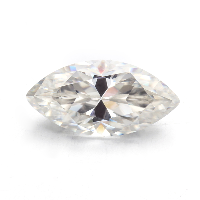 Very Brilliant Marquise Shape 11x21mm Big Size Loose Moissanites For Jewelry