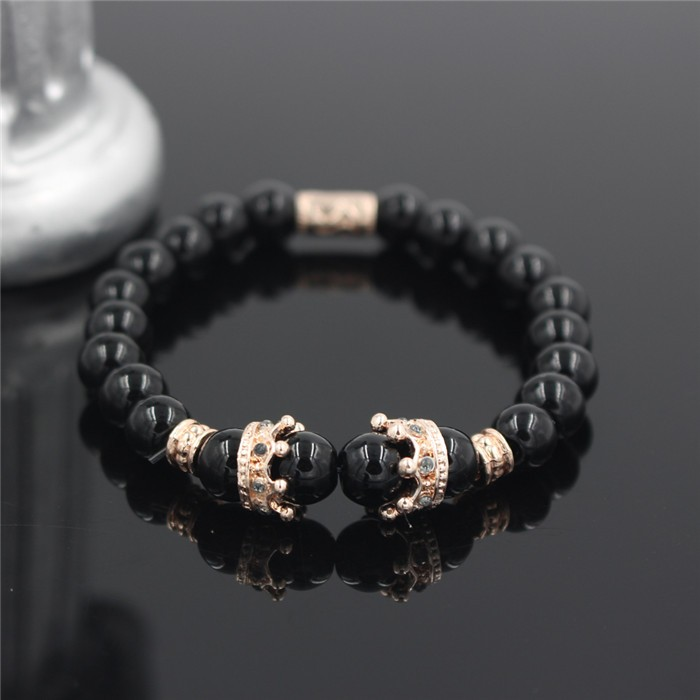 rose-gold-imperial-crown-with-natural-glossy-stone-black-bracelet-1