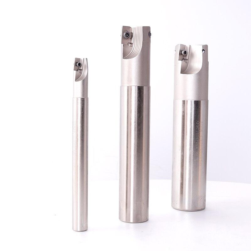 Купить с кэшбэком BAP300RC10-10-120-1T Milling Cutter End Mill Shank Carbide Milling Cutting Two Inserts Clamped Milling Cutter Rod Milling Tools