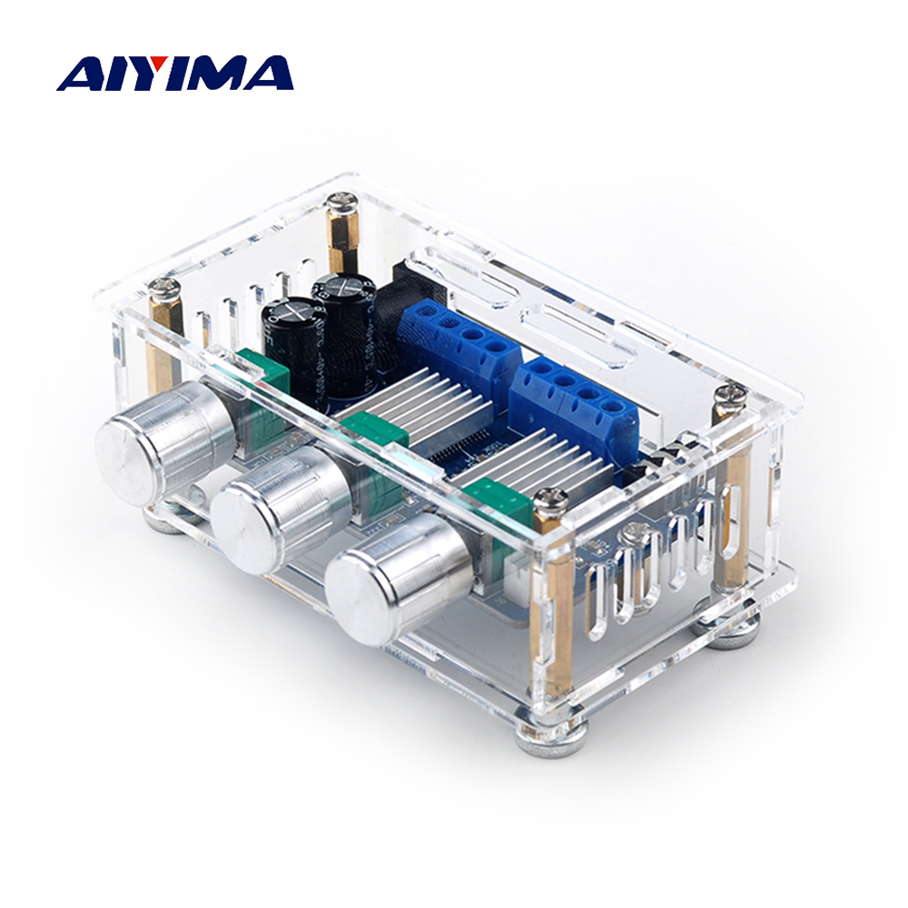 AIYIMA YAMAHA YDA138-E Power Amplifier Board 12W*2+20W 2.1 Digital Audio Amplifier Board Treble Bass Adjustment Home Theater DIYAIYIMA YAMAHA YDA138-E Power Amplifier Board 12W*2+20W 2.1 Digital Audio Amplifier Board Treble Bass Adjustment Home Theater DIY