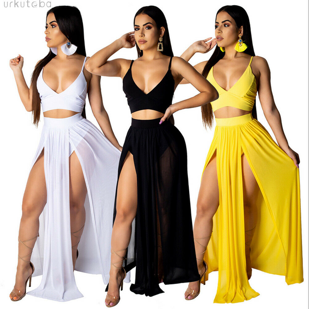 Swimwear Women Ever-Pretty Beach Summer Dress Long Chiffon Formal Party Dresses Two Pieces Suit