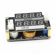 new XL4015 5A Adjustable Power CC/CV Step-down Charge Module LED Driver Voltmeter Ammeter Constant current constant voltage