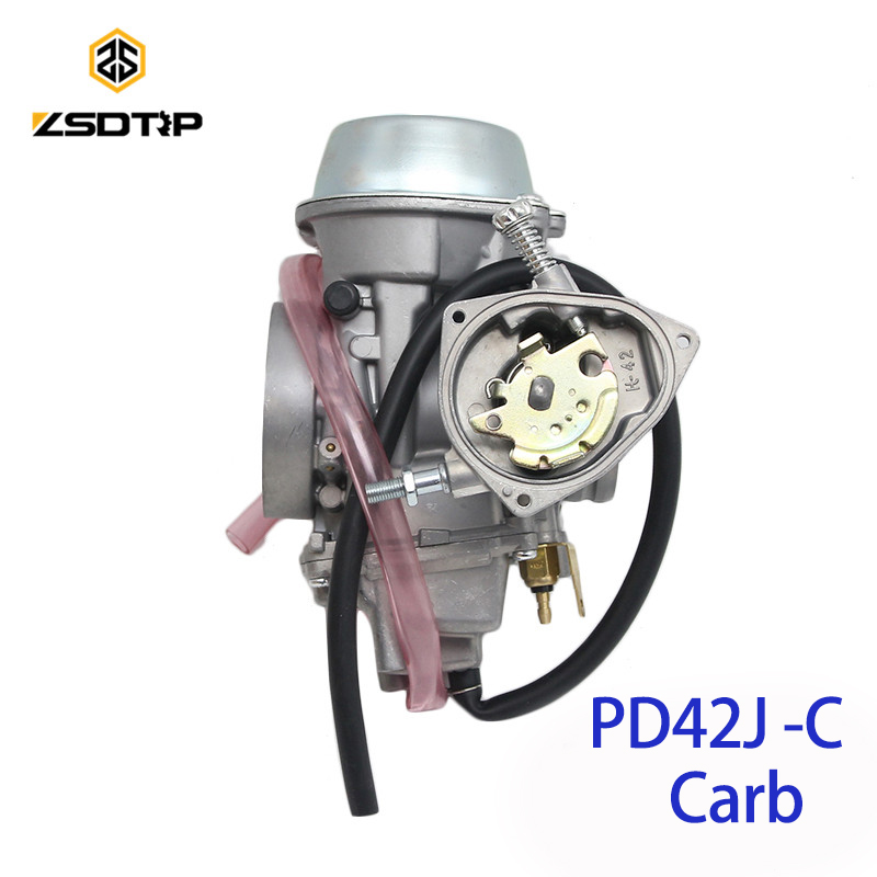 ZSDTRP PD42J-C 42mm Carburetor Carb for PD42J Yamaha Grizzly 600 660 YFM600 ATV Raptor 500 650 660 ATV Quad UTV atv carburetor carb for polaris ranger 500 assembly 1999 2009