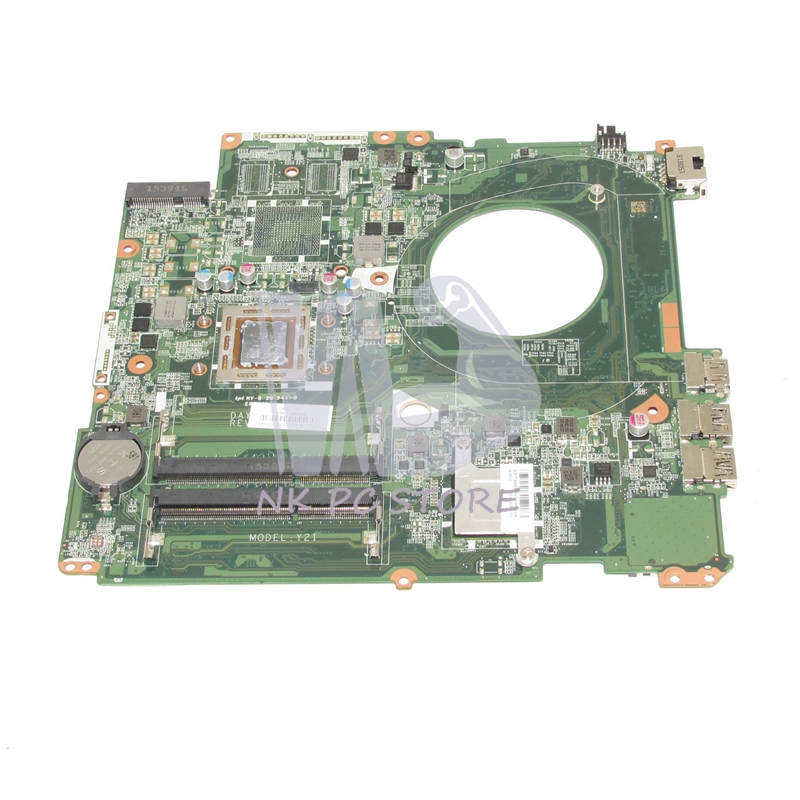 809986-601 809986-001 For HP Pavilion 17-P Laptop Motherboard DAY21AMB6D0 A10-7050M CPU DDR3 Full tested nokotion original 809985 601 809985 001 laptop motherboard for hp pavilion 15 p a10 7300m cpu day21amb6d0 full tested works