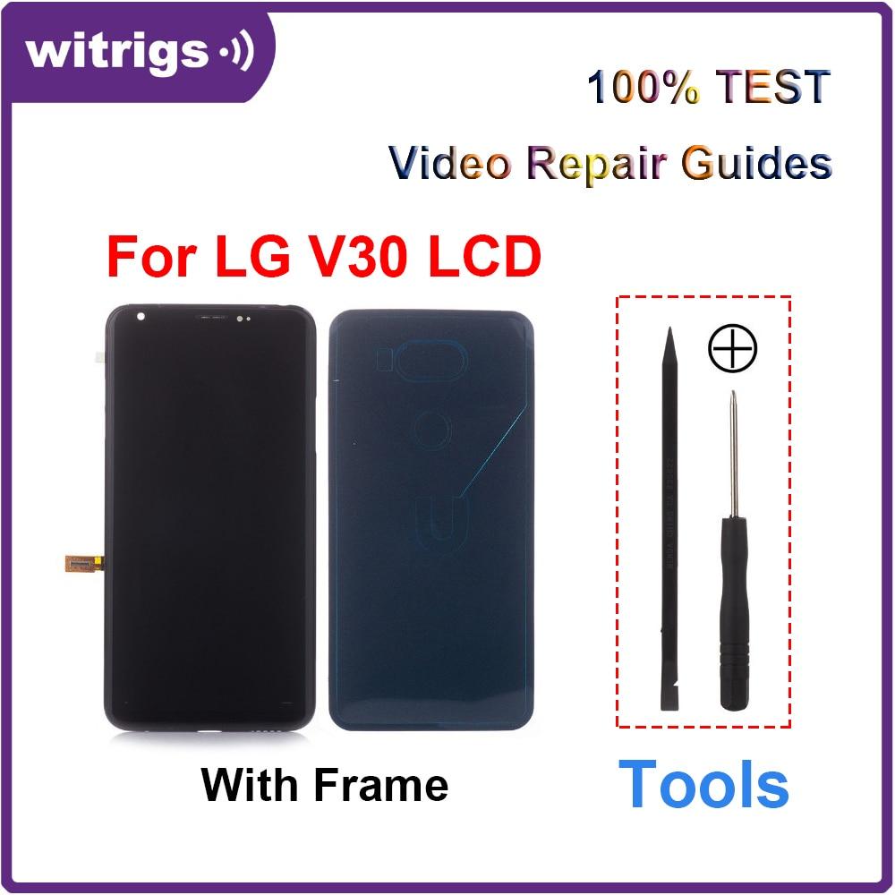 Witrigs Für LG V30 LCD Display Touch Screen digitizer Mit Rahmen Montage Ersatz Teile V30 +-in Handy-LCDs aus Handys & Telekommunikation bei AliExpress - 11.11_Doppel-11Tag der Singles 1