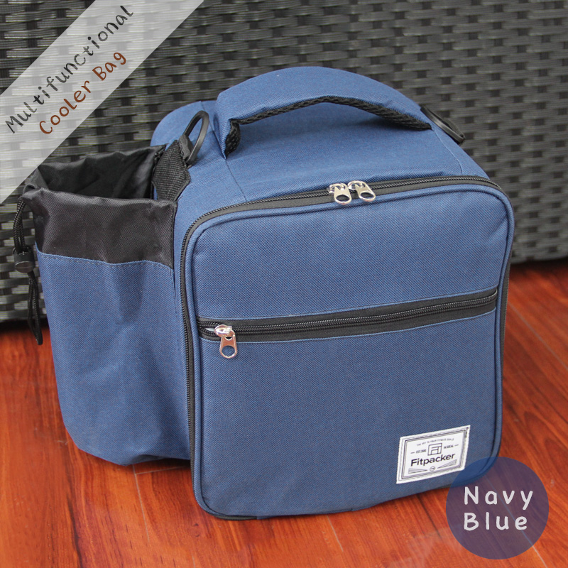 Outdoor Insulated Cooler Bag, Thermal Oxford Picnic Lunch shoulder bag