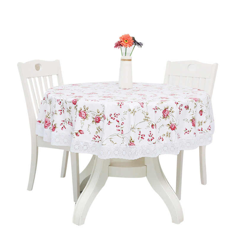 225 & New Round Tablecloth Table Cloth Round Table Cover for Event Wedding Party Tablecloth Rectangular Restaurant Banquet Table Cover