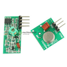 315 MHz RF Transmitter and Receiver Module Link Kit for ARM / MCU WL DIY 315 MHz / 315 MHz Wireless Remote Controller for Arduin(China)