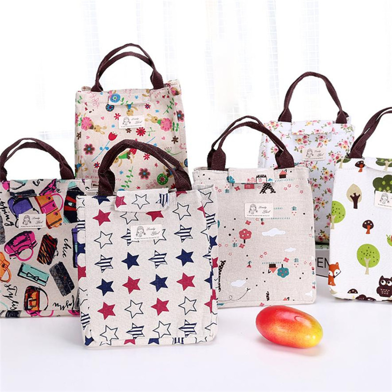 Portable Insulated Thermal Cooler Lunch Box Carry Tote Storage Bag Case Picnic x30409