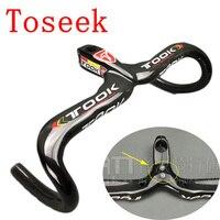Toseek Carbon Handlebar Fiber Road Bicycle Handlebar Carbon Cycling Bike Handle Bicycle Handle Bar Carbon Cheap